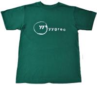 yygrec Logo T-shirts Green